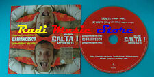 CD singolo DJ FRANCESCO chi non salta adesso salta! 5002798 PROMO no mc lp(S20*)