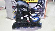 2Xs Adult Inline Skates Size 6 Comfort Fit Roller Blades Blue