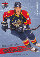 08-09 Fleer Ultra Michael Frolik /100 Rookie Ice Medallion