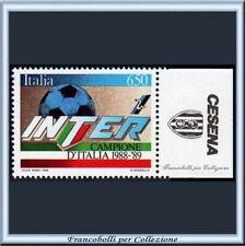 1989 Italia Repubblica Campionato Calcio Scudetto all'INTER Appendice CESENA **