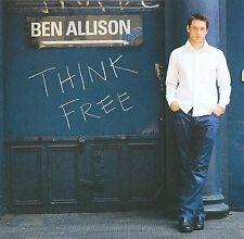 Ben Allison - Jazz Bass - THINK FREE CD [2009] Near Mint