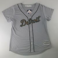 Detroit Tigers MLB Majestic 2016 Memorial Day Jersey Women's Size Large Camo