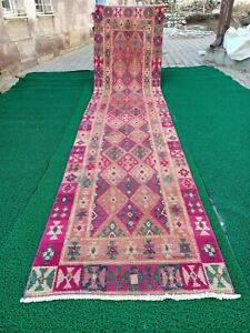Extra long runner rugs,turkish home rugs,oushak rugs, hallway rugs,