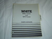 White Minneapolis Moline G955 1870 tractor parts catalog parts manual book
