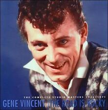 The Road Is Rocky: Complete Studio Masters 1956-1971 by Gene Vincent (CD, Feb-2005, 8 Discs, Bear Family Records (Germany))