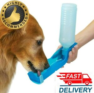 Portable Pet Dog Cat Outdoor Travel Water Bowl Bottle Feeder Drinking Dispenser