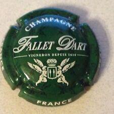 Capsule de Champagne FALLET-DART (19. vert et blanc)