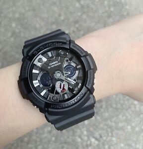 Casio G-Shock *GA201-1A Anadigi BlackResin Watch Ivanandsophia COD PayPal