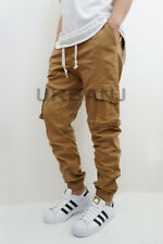 MEN'S CARGO TWILL STRETCH JOGGER PANTS (S-5XL) 4 COLORS * VICTORIOUS *