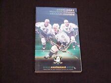 2000-2001 Mighty Ducks of Anaheim NHL Hockey Media Guide