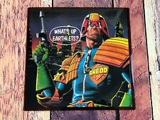 FINK BROTHERS What's Up Earthlets 45 Record Picure Disc JUDGE DREDD Mega City