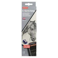 Derwent 6 Sketching Pencil Tin Set