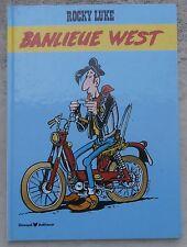 Rocky Luke Banlieue West EO 1985 Morris Margerin Tillieux Servais Juillard Roba