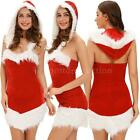 Christmas Santa Claus Fancy Dress Party Sexy Women Lady Girls Costume 2016 E4N3