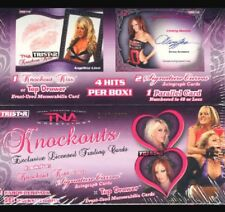 2009 TriStar TNA KNOCKOUTS Wrestling Factory Sealed Hobby Box 4 Hits 2 Autos +