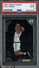 1998 Topps Chrome #135 Paul Pierce RC Rookie Celtics PSA 9 MINT