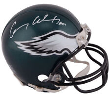 CARSON WENTZ Autographed Philadelphia Eagles Authentic Proline Helmet FANATICS