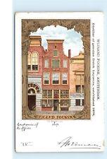*Wijnand Fockink Amsterdam Dutch Liquor Distillery Wynand Vintage Postcard A66