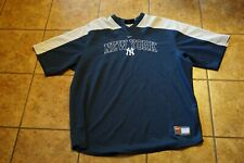 New York Yankees Adult XXL Pullover Short Sleeve Sweater