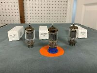 3x Telefunken ECC83 / 12AX7 Tubes - Matched - Amplitrex Tested - See Test Scores