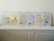 Milestone Baby Cartes, Disney mois par mois, Baby Shower Cadeau, nouveau bébé