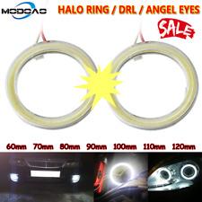 2x COB Halo Ring Headlight Lamp DRL 12V Car LED Fog light Angel Eye 80MM