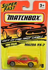 MATCHBOX 1994 GET IN THE FAST LANE NEW COLOR - MAZDA RX - 7  #8