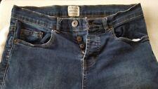 NEW Denim & Co. Mens Jeans W30/L30 Skinny 98% cotton mid blue