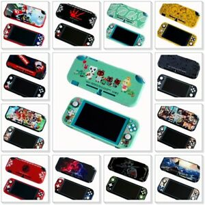 TPU Case Cover for Nintendo Switch Lite Snap on Shell Double Sides 20+ Designs