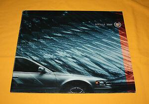 Cadillac Seville 2000 USA Prospekt Brochure Catalog Depliant Prospect Folder GM