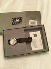Women's Swiss Army Leather Strap Watch