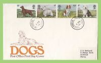G.B. 1979 Dogs on Post Office First Day Cover,  Barking cds