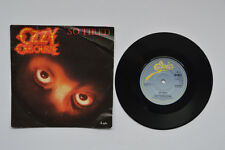 "OZZY OSBOURNE SO TIRED 7"" VINYL SINGLE in PICTURE SLEEVE"