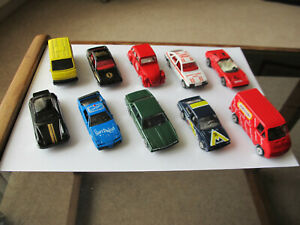 A Collection of 10 Corgi Die-cast Vehicles