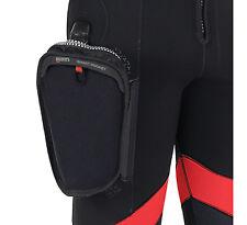 Mares (2017 Flexa Wet-suit) Easy Attach Removable Scuba Diver Accessories Pocket