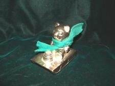 Teddy Bear ~ Japan Baby's First Birthday Candlestick - SILVER OR SILVER PLATE