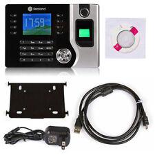 "2.4"" TFT Biometric Fingerprint Time Attendance Clock Employee Payroll Recorder"