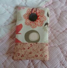 Handmade - Pouch Case for Samsung  S5 S6 - will fit phone upto 14.5cm x 7cm