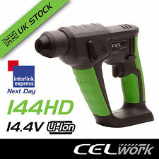 CEL 14.4V Li-Ion Cordless Hammer Drill SDS Plus - Battery not included