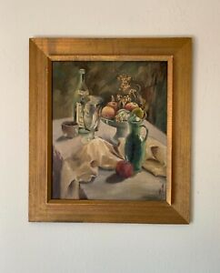 Xu Xingzhi (1904--1991) Chinese Artist Oil Painting Signed