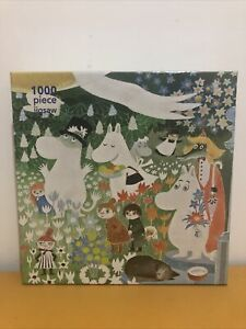 Moomin The Dangerous Journey 1000 Piece Jigsaw Puzzle by Flame Tree Tove Jansson