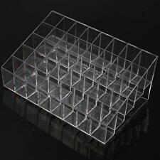 Clear Acrylic 40 Lipstick Holder Display Stand Cosmetic Organizer Makeup Case H