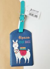 Alpaca Your Luggage Tag Travel Holiday