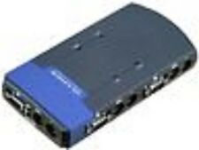 Brand New Cisco-Linksys PS2KVM4 ProConnect 4-Port KVM Switch w Free Cables