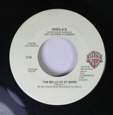 Pop 45 Sheila E. - The Belle Of St. Mark / Too Sexy On Warner Bros.