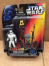 Kenner Star Wars POTF Deluxe Crowd Control Stormtrooper 1996