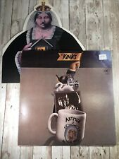 THE KINKS: ARTHUR OR DECLINE AND FALL OF THE BRITISH VINYL ALBUM LP WITH INSERT