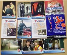 New Avengers 1970's Cult British TV Series - Base Set of 72 Mint Trading Cards