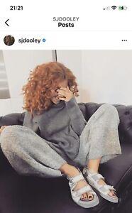 Zara Knit Wear Lounge Hoodie Jumper Joggers Pants Trousers Set Size S Worn Once