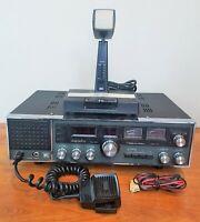 Vintage Realistic Navaho TRC 457 CB Radio AM USB LSB W Mic